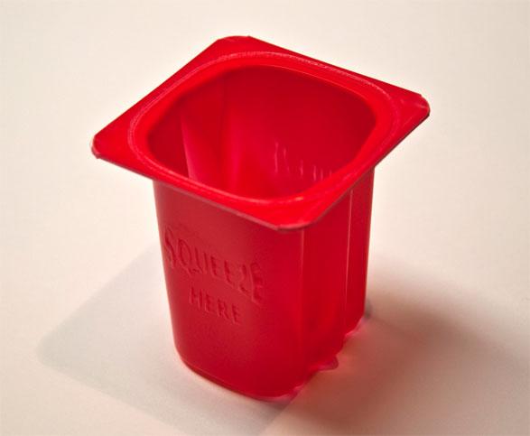 CrushPak plastic tray