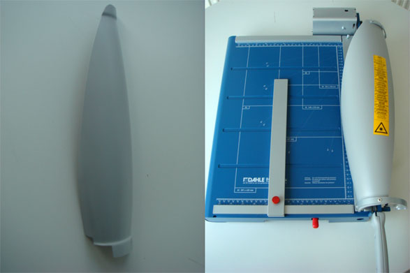 Paper cutting (guillotine)