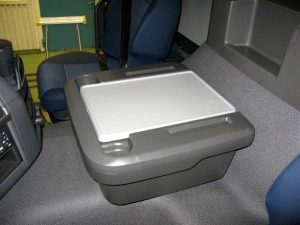 Table accessories box for Volvo trucks