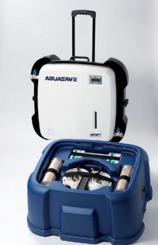 Aquasave and Aquaclean water treatment