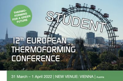 Student Ticket Thermoforming Conference
