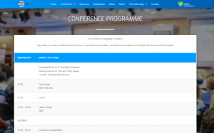 Updated – Thermoforming Conference Programme
