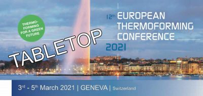 Tabletop Ticket Thermoforming Conference