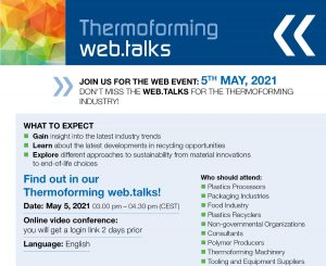 Join us – thermoforming web.talks